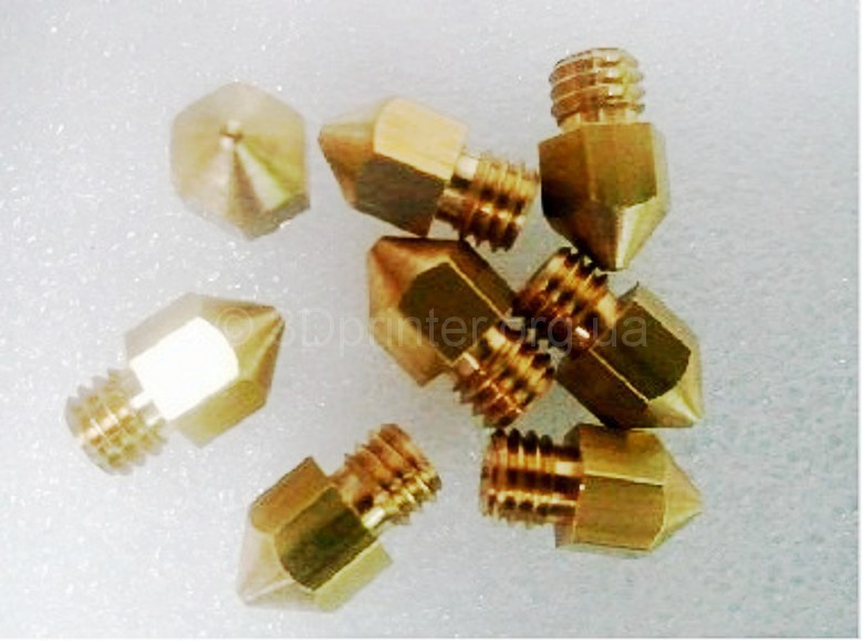 5pcs-0-4mm-Brass-Extruder-Nozzle-For-MK8-Makerbot-Reprap-3D-Printer-free-shipping