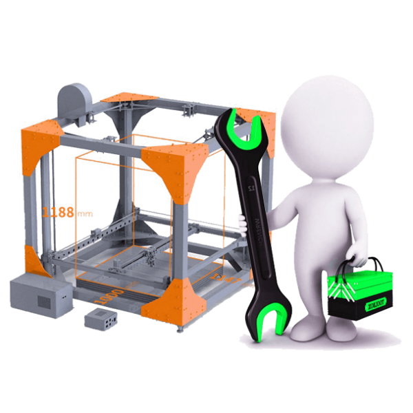 repair 3dprinter service