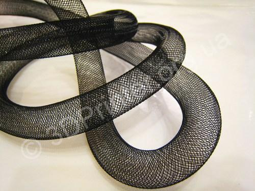 1_yards_of_black_horsehair__cringe__tube_crinoline_for_hair_accessor_001f9e53