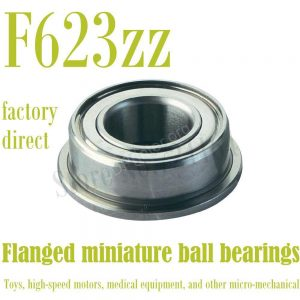 Free-Shipping-F623ZZ-Flanged-bearing-RF1030ZZ-F623ZZ-FL623-ZZ-F623-2Z-RKF310-3-10-4mm-Shielded