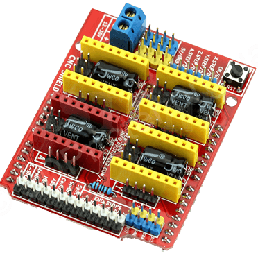 arduino_uno_stepper_motor shield