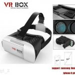 Google cardboard VR BOX Version VR Virtual Reality Glasses rift 3d movies and 3d Games Movie for 3.5 - 6.0- Smart Phone