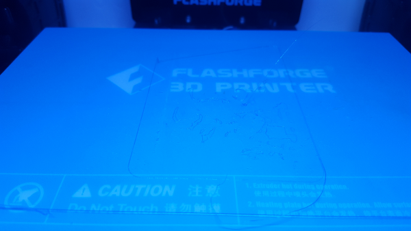 Термоковрик для 3D печати FLASHFORGE BLUEPAD