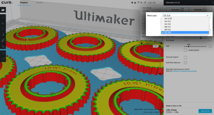 Ultimaker Cura 3.6 – новая бета-версия