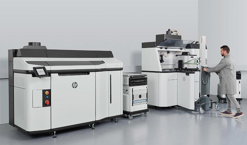 HP представляет новый 3D-принтер Jet Fusion 5200